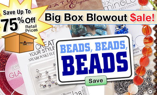BEADS Up to 75% Off!