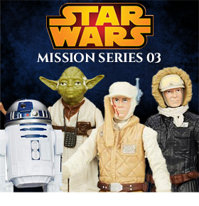 STAR WARS MISSION FIGURES