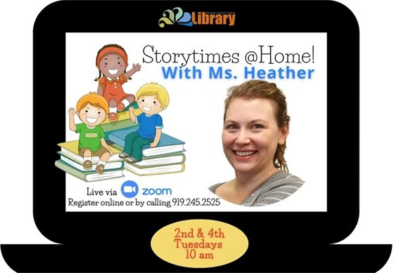 Storytimes @Home with Ms. Heather