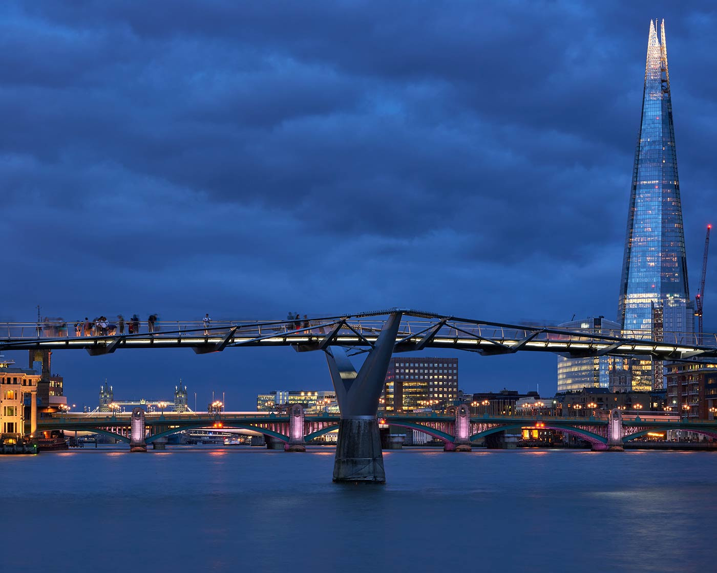 View of Millennium Bridge