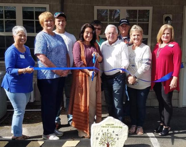 Ribbon Cutting for Modern Family Counseling