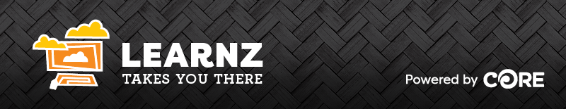 LEARNZ takes you there. Powered by CORE.