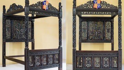 Henry VII's Marriage Bed May Have Spent 15 Years in a British Hotel's Honeymoon Suite image