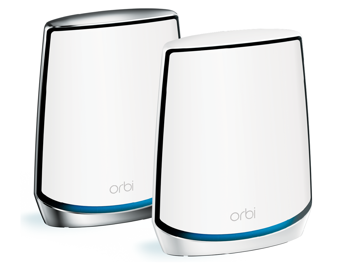 RBK152_Hero_3-4Rt_Transparent.101001 NETGEAR repousse les limites de la maison connectée grâce aux nouvelles technologies présentées au CES 2019 et introduit le Wi-Fi 6 sur son système Orbi