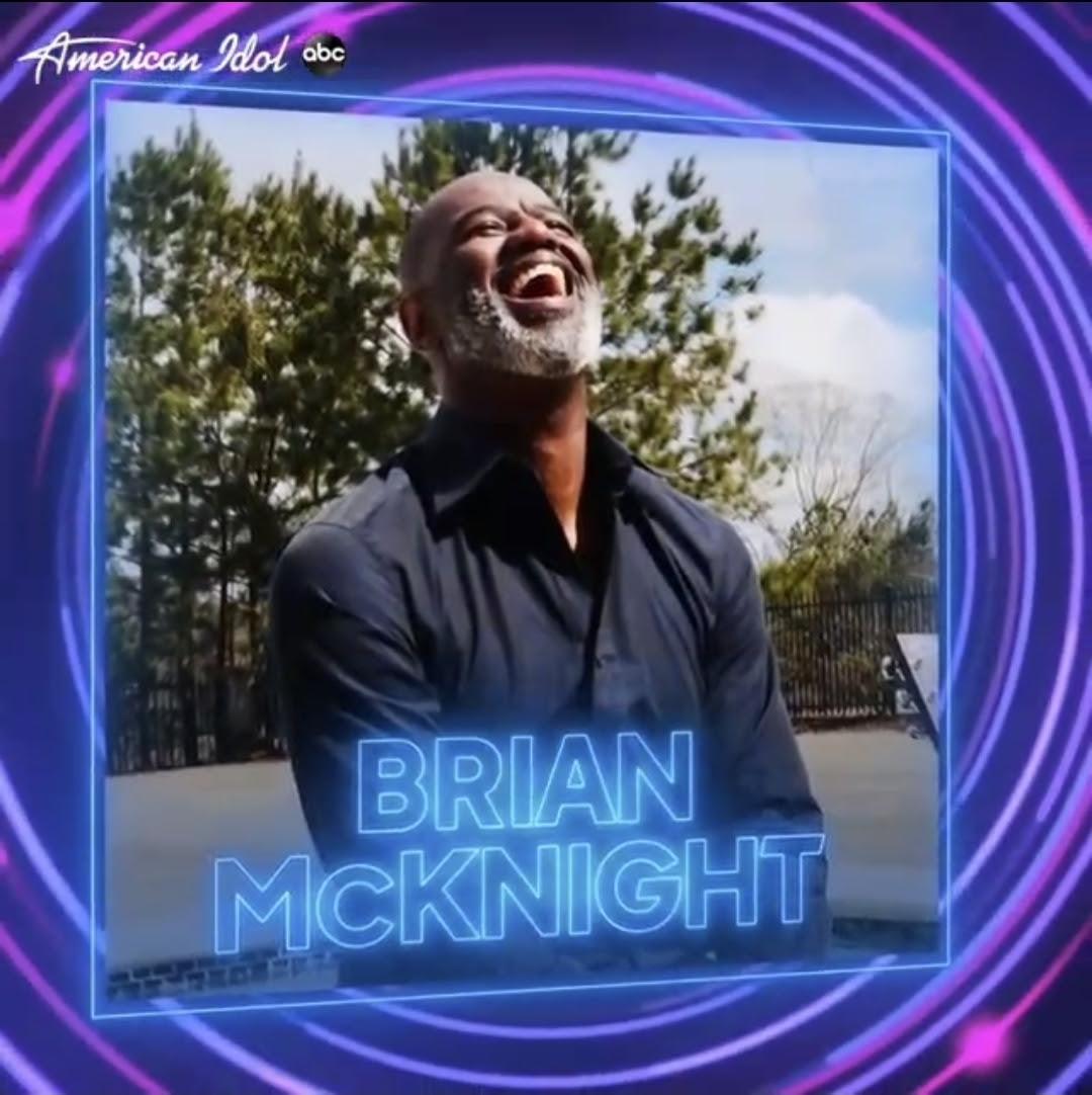 BrianMcKnight AmericanIdol