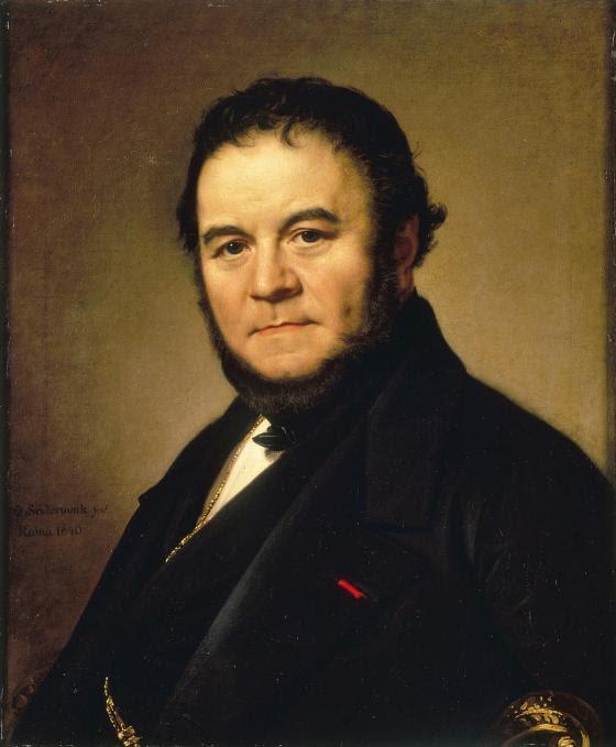 Retrato de Stendhal