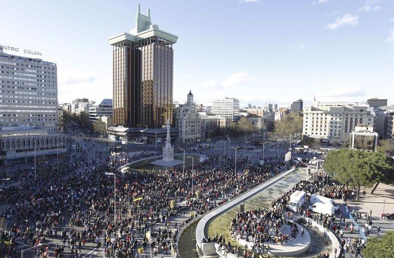 """Las 'Marchas de la Dignidad' denuncian la situación de """"emergencia social"""" y piden el fin de los recortes"""