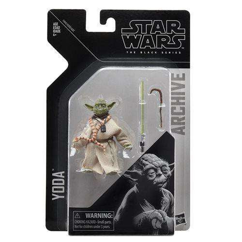 Image of Star Wars The Black Series Archive Action Figures Wave 2 - Yoda
