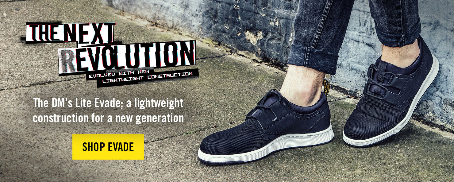 DM's Lite - Now you're an expert on our originals, discover more about the next revolution. DM's rebellious DNA in a lightweight construction - SHOP DM'S LITE