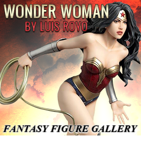 FANTASY FIGURE GALLERY WONDER WOMAN STATUE