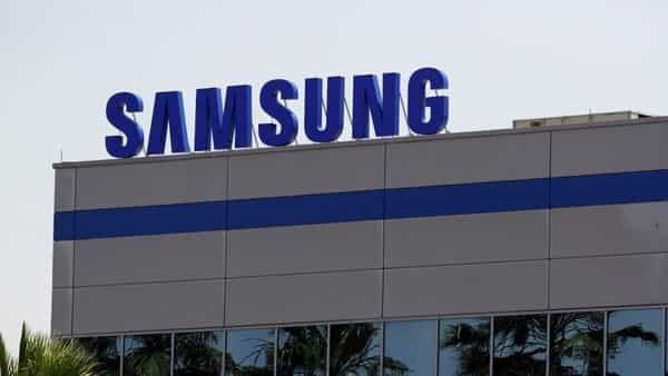 The logo of Samsung Electronics.  (REUTERS)