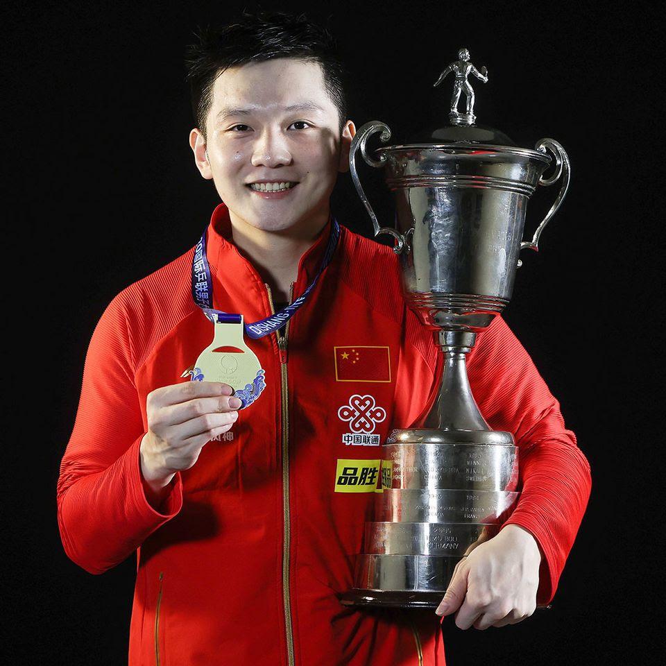 Fan Zhendong. Photo: Facebook, ITTF.