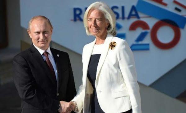 Putin y Lagarde