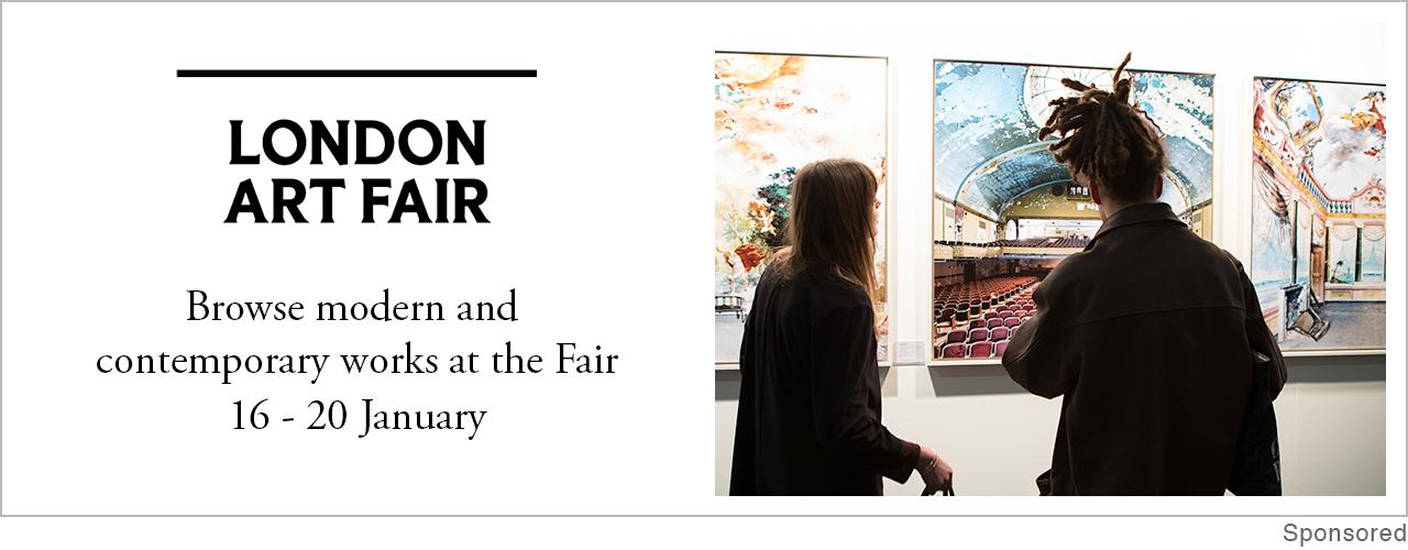 Feira de Arte de Londres |  16 a 20 de janeiro