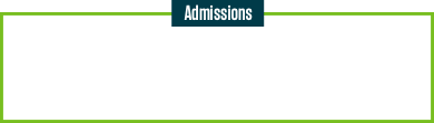 Admissions - Counselors Newsletter
