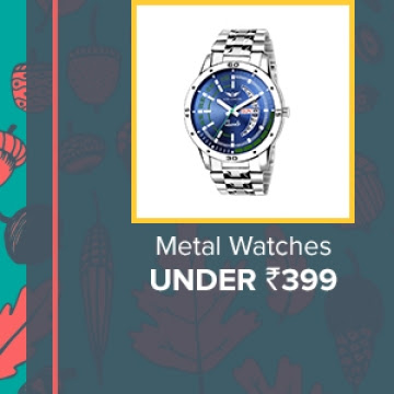 Metal Watches under Rs.399