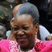 Catherine Samba-Panza, mayor of Bangui, after being elected interim president of the Central African Republic by the transitional parliament, on Tuesday.