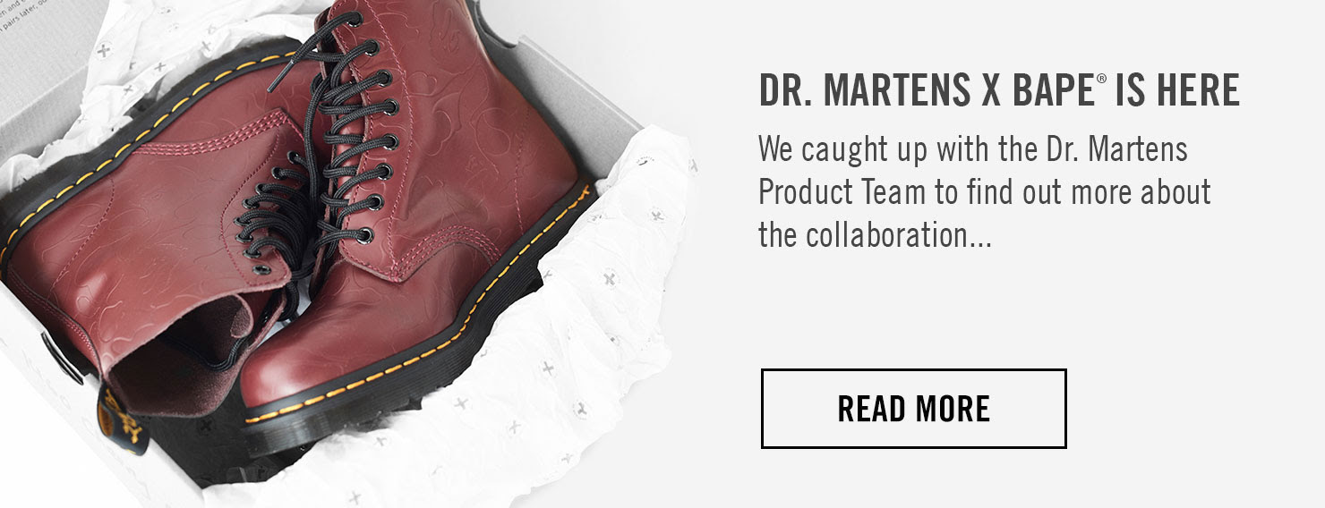 We caught up with the Dr. Martens Product Team to find out more about the collaboration... READ MORE