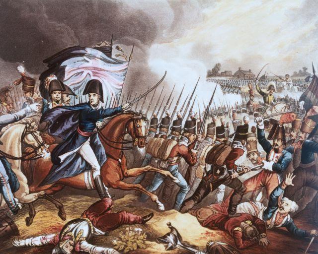 La batalla de Waterloo: Una pauta en la estrategia geopolítica de Gran Bretaña