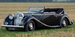 1948 Jaguar MK IV 3.5 Litre Drophead Coupe