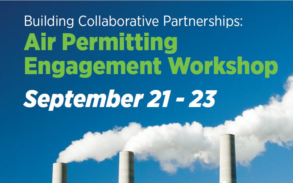 Air Permitting Engagement Workshop promotion