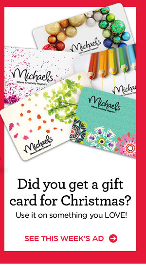 Did you get a gift card for Christmas? Use it on something you LOVE! SEE THIS WEEK'S AD