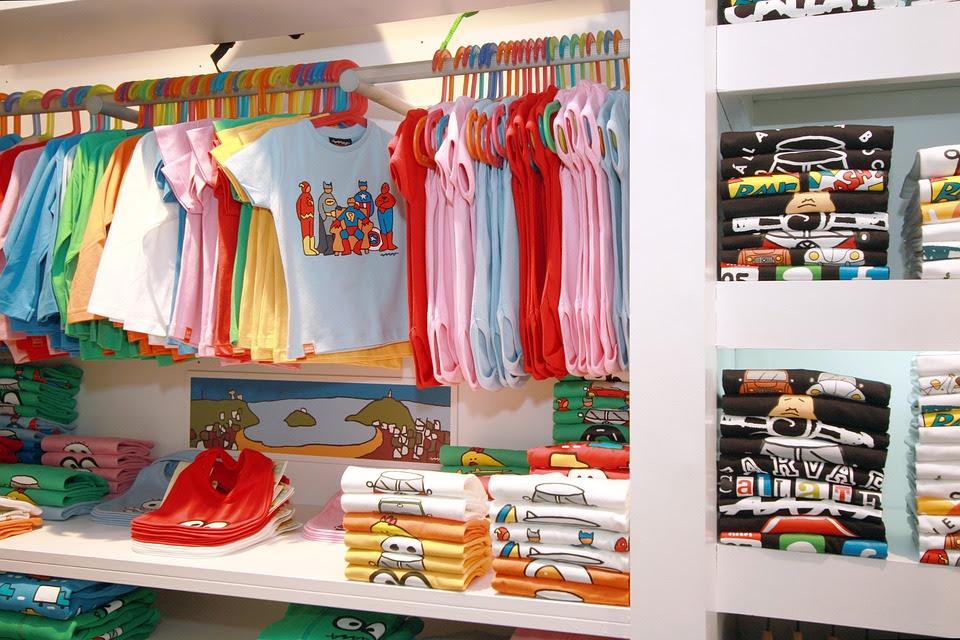 Moda, Loja De Roupas, Criança, Comércio, T-Shirt