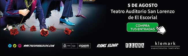 5 agosto Teatro Auditorio San Lorenzo de El Escorial. Compra tus entradas