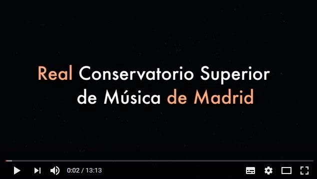 real conservatorio superior de musica de madrid  Pruebas de Ingreso en el RCSMM 2018