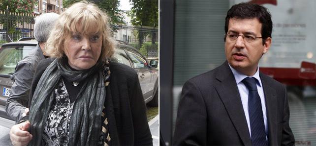 La jueza argentina María Servini (izq) y el juez de la Audiencia Nacional Fernando Andreu.