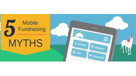 Mobile Myths, Stats and Insights [INFOGRAPHIC] - re: charity