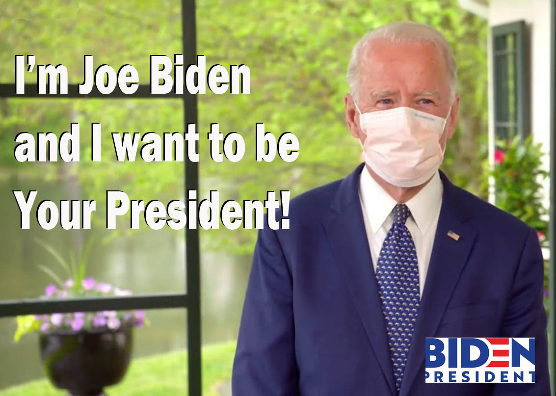 fake Biden campaign advert