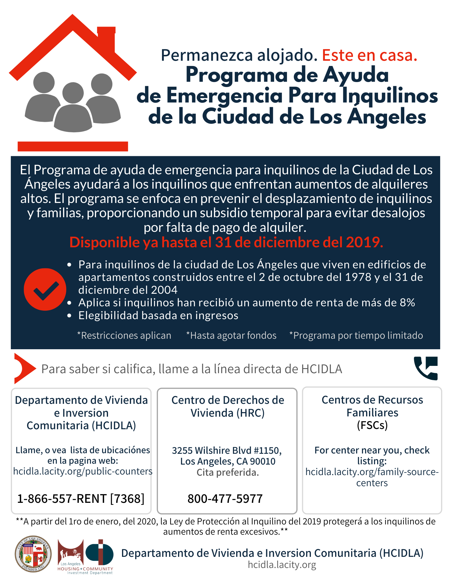 Renters Relief Program SPANISH