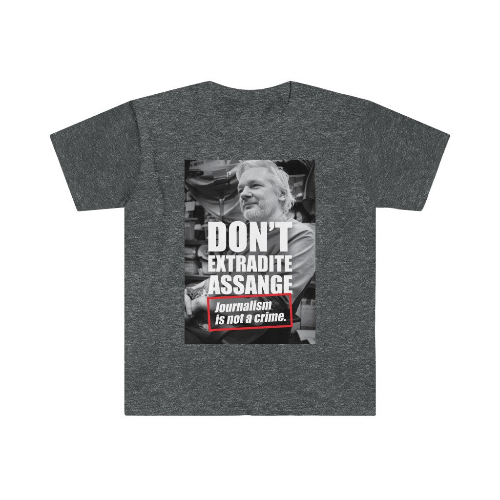 Don't Extradite Assange - Men's Fitted Premium Tee