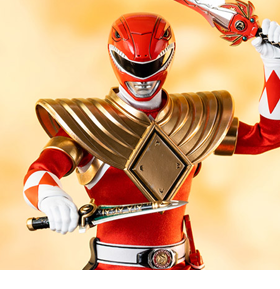 Mighty Morphin Power Rangers FigZero Dragon Shield Red Ranger 1/6 Scale PX Previews Exclusive Figure