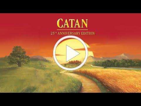 CATAN 25th Anniversary Edition Trailer
