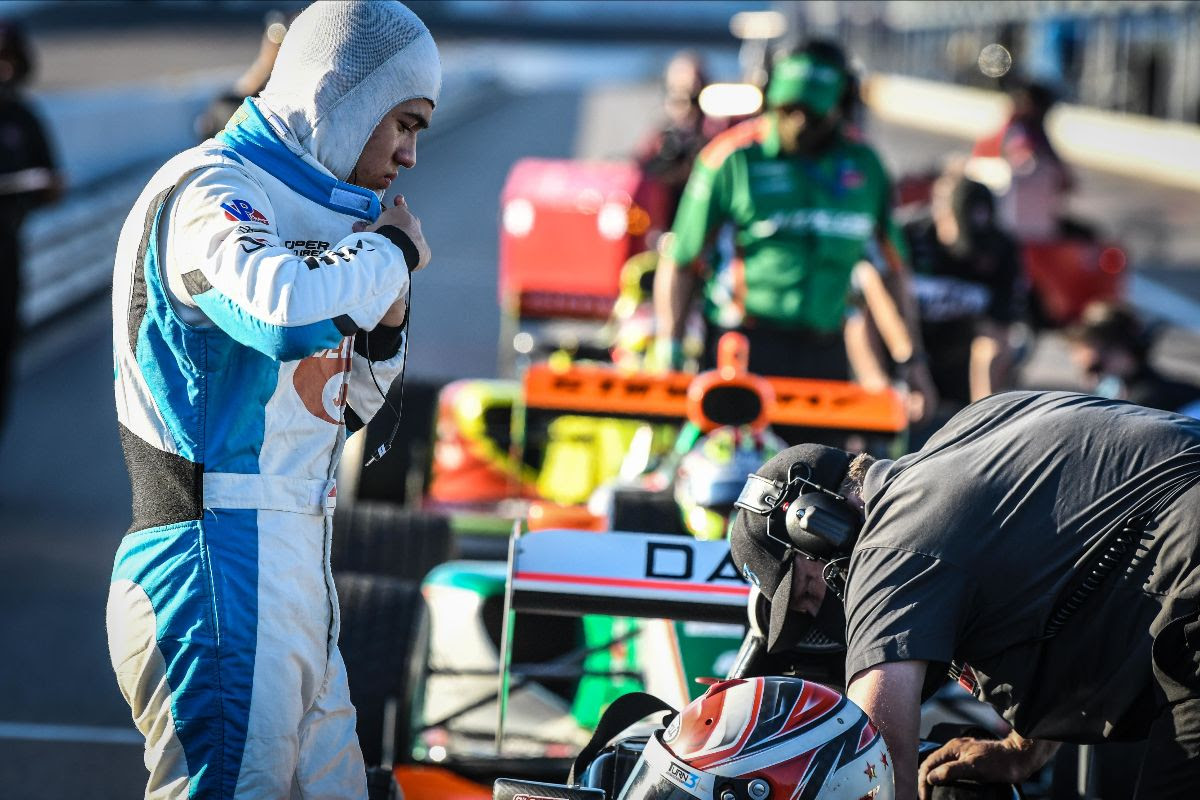 Danial Frost Prepares to Race at World Wide Technology Raceway