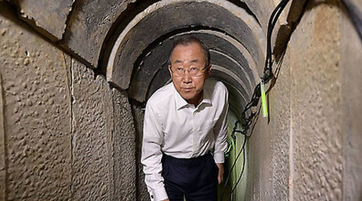 Ban in tunnel