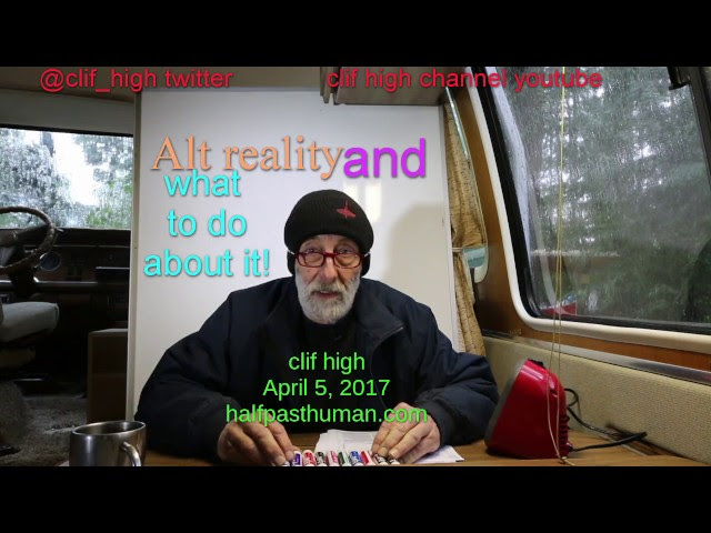 clif high - Welcome to Alt Reality, and what to do about it!  Sddefault