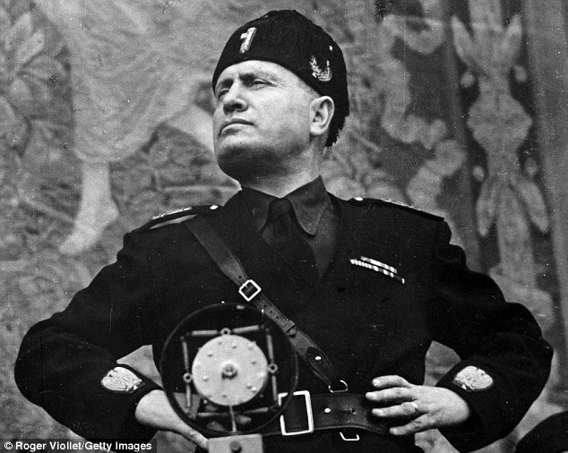 Image result for mussolini