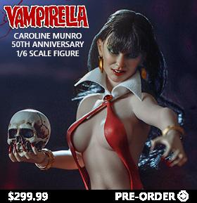 Vampirella (Caroline Munro 50th Anniversary Edition) 1/6 Scale Exclusive Figure