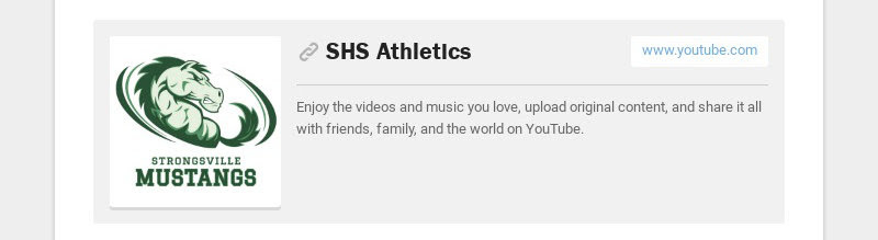 SHS Athletics www.youtube.com Enjoy the videos and music you love, upload original content, and...