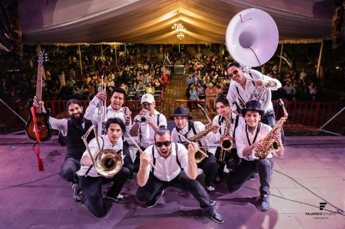 Tenampa Brass Band Tercer aniversario / C3 Rooftop