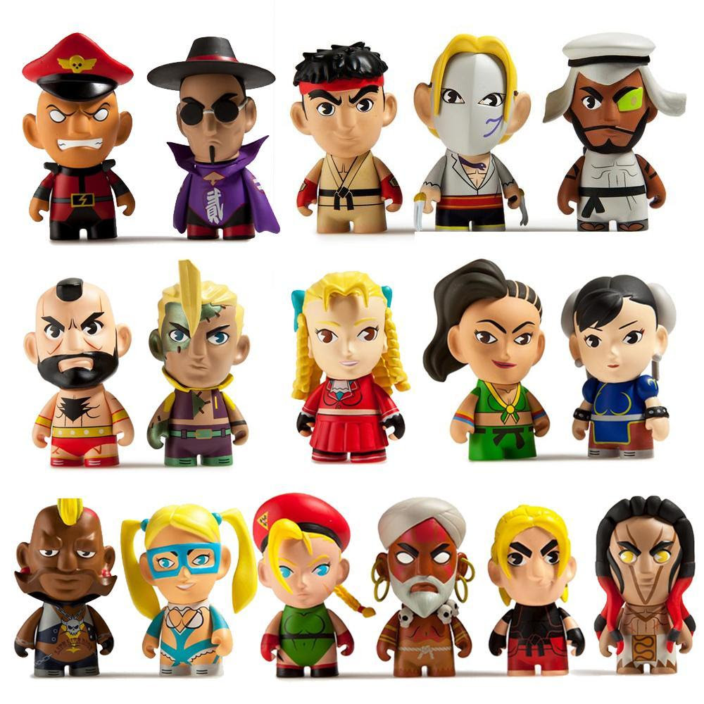 "Street Fighter 3"" Blind Box Mini Figure Series"