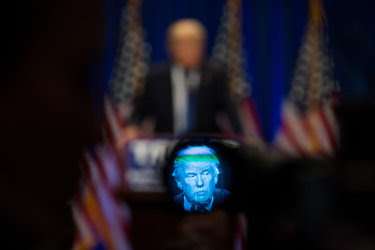 """In his speech on Monday, Donald J. Trump warned that terrorism could wipe out the United States. """"There will be nothing, absolutely nothing, left,"""" he said."""