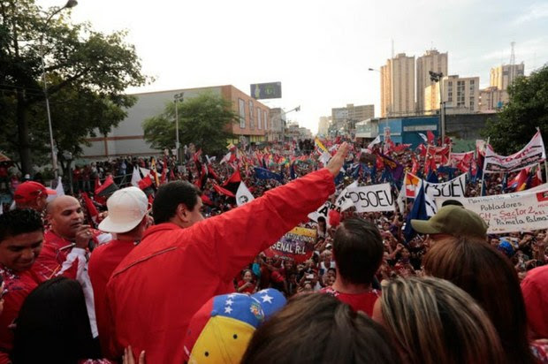 El presidente Maduro en el cierre de Campaña del GPP en el estado Aragua