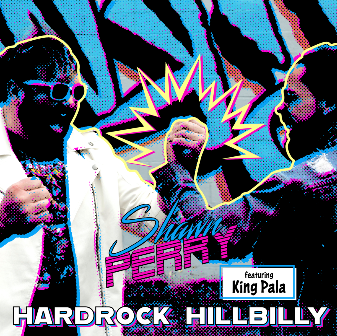 hard rock hillbilly single cover