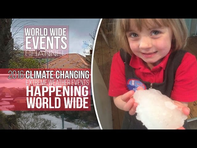 Climate Changing : Extreme Events World Wide 2016  Sddefault