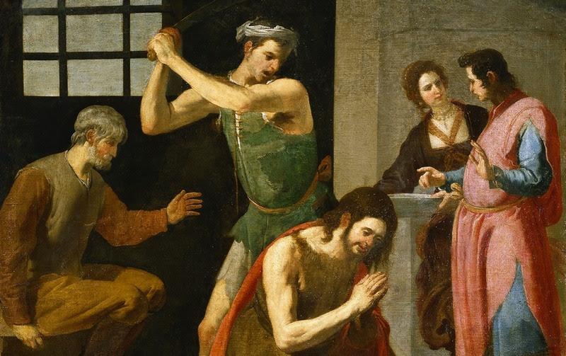 Znalezione obrazy dla zapytania MĘCZEŃSTWO ŚWIĘTEGO JANA CHRZCICIELA