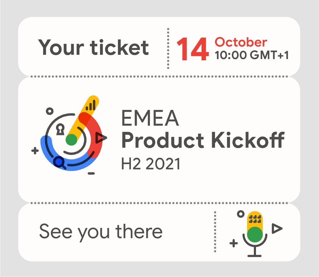 Google Product Kick Off 2021